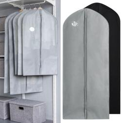 1/5/10 Garment Bags Dress Suit Clothes Coat Cover Protector