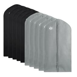 "10 Pack 40"" Garment Bag Suit Storage Cover Dress Clothes Coa"