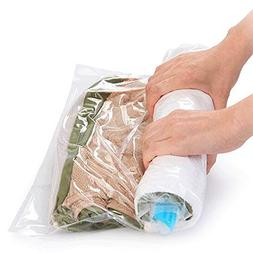 12 Compression Space Saver Travel Storage Bags. 12 Pack  Rol