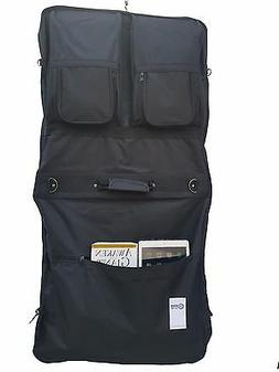 """2-PACK 46"""" Garment Cover Bag for Suits and Dresses Clothing"""