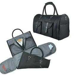 2 in 1 Convertible Travel Garment Bag Carry On Suit Bag Lugg