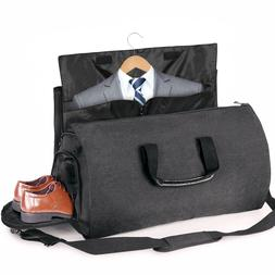 2 In 1 Convertible Business Travel Garment Bag Carry On Suit