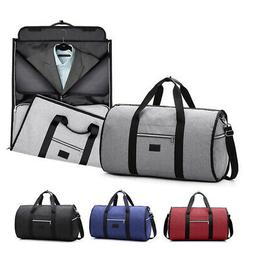 2 in1 Business Travel Garment Bag Carry On Suit Outdoor Gym