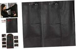 2 Pack Hanging Garment Bag Storage Clothes and Travel Breath