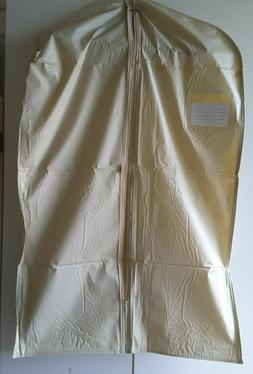 2 Zippered Garment Bags for Suit,Dress,Jacket / Storage,Cove