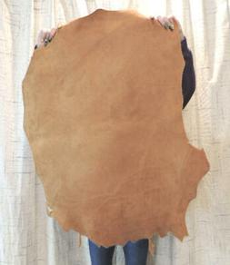 3-4 oz. RUST Suede Leather Hide for Garments Crafts Cosplay