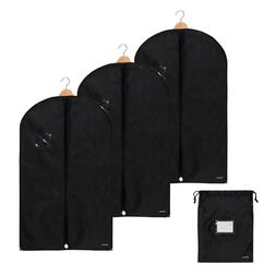 3 Pack Premium Garment Bag incl. Shoe Bag | 39.4 x 23.6 inch