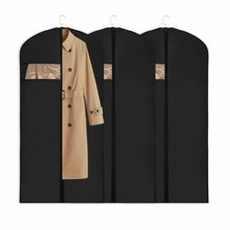 Garment Bag Suit Coat Hanging Storage Cover 5 Pack Dustproof