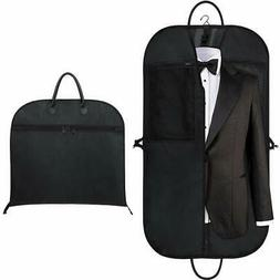 """Orange Tech 43"""" Gusseted Travel Garment Bag, Breathable and"""
