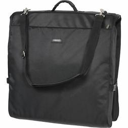 WallyBags 45-inch Framed Garment Bag with Shoulder Strap and
