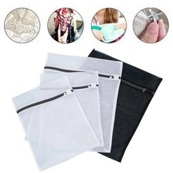 4Pcs Fine Mesh Laundry Bag Sets Washing Bags Garment Delicat