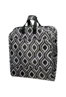 WallyBags 52 Inch Fashion Garment Bag with Pockets Ogee 405