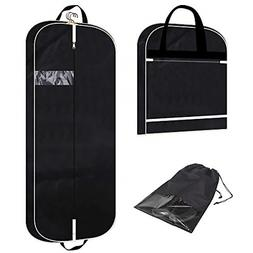 """54"""" Garment Bag with Extra Large Pockets for Travel, Gussete"""