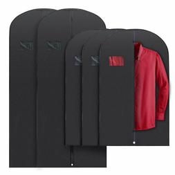 5x Mixed Sizes PLX Hanging Garment Bags for Storage Travel S