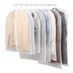 6 X Wardrobe Hanging Clothing Cover Suit Garment Bag Clothes