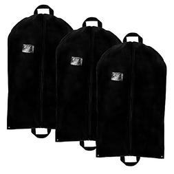 Blue Donuts Garment Bag with Pockets for Suits, Travel, Stor