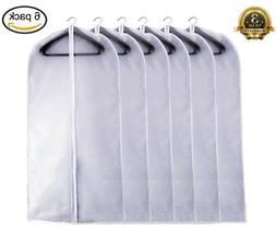 Garment Bag Clear, Dust Bags Cover Moth Proof for Clothes St