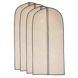 Garment Bags by Home Zone - 4 Pack of Breathable Garment Bag