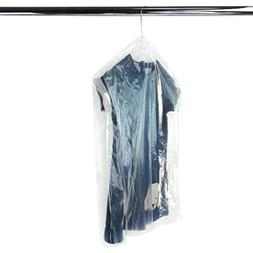 HANGERWORLD 30 Clear 30inch x 20inch Dry Cleaning Laundry Po