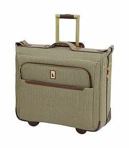 "London Fog Cambridge II 44"" Wheeled Garment Bag, Olive Hound"