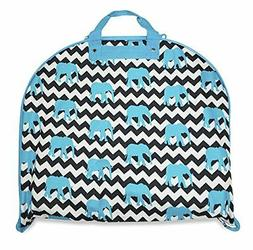 NEW HANGING GARMENT BAG CHEER DANCE TRAVEL LUGGAGE TOTE TEAL