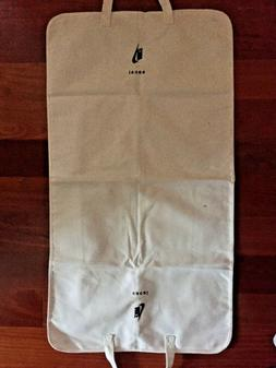 NIKE SACAI Shirt Garment Bag ZIP AROUND Handles White Black