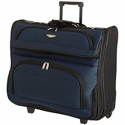 Rolling Garment Bag Wheeled Luggage Suitcase Clothes Travel