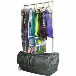 Wheeled Dance Duffel Bag Garment Rack Roll 28 In Theater Lig