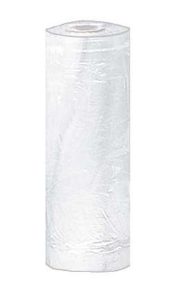 White Plastic Garment Bags - Large, • Overall Dimension: 2