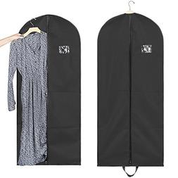 "Titan Mall 54"" Black Garment Bags Breathable Coat Cover Carr"