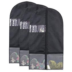 "Kernorv Garment Bag with Pockets, 43"" Garment Bags for Stora"