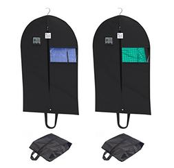 Breathable Garment Set, Set of Two Suitcase Covers 42 Inch