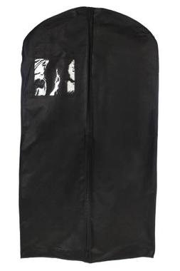 """Bags for Less Breathable 54"""" Gusseted Garment Bag with Gusse"""