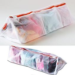 brightmaison 3 Sectional Delicates Set of 2 Laundry Wash Bag