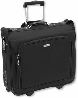 "London Fog Buckingham 44"" Wheeled Garment Bag, Black, One Si"