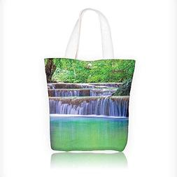 Canvas Tote Bag Fairy Step Cascades Pours Into Crystal Clear