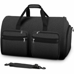 Carry On Garment Bag Convertible Large Suit Bags for Men Wom