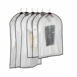 Clear Dust-proof Dress Clothes Cover Suit Dress Garment Bag