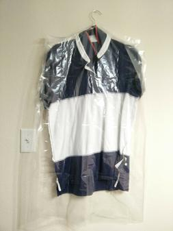 CLEAR POLY GARMENT BAGS Dry Cleaning Laundry Suits & Dresses