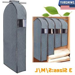 Clothes Garment Dustproof Cover Suit Coat Hanging Storage Ba