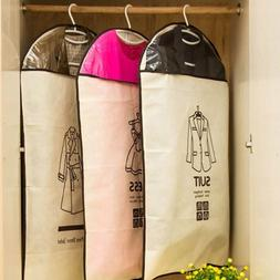 Clothes Garment Suit Dress Storage Bag Dust Cover Travel Car