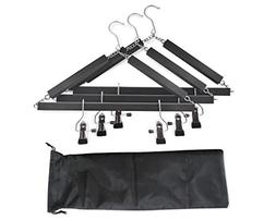OXVIATOR Collapsible Travel Hangers  - Highly Compact, Innov