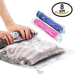 WETONG Compression Garment Space Saver bags for Travel ,Roll