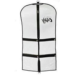 Simply Caddy Costume Garment Bag with Pockets, Black Trim