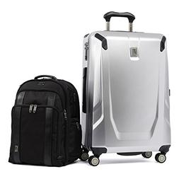 Travelpro Crew 11 2 Piece Set , Silver and Black