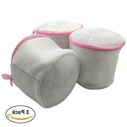 Magic Home 3 Pack Delicate Bra Washing bag, Breathable Fabri