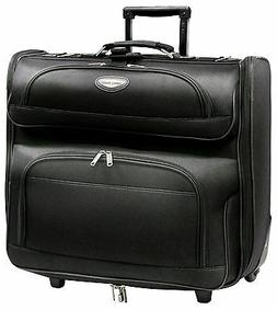 deluxe zipped garment bag luggage