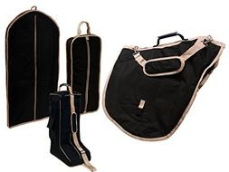 Derby English Horse Saddle, Bridle, Boot, and Garment Carry