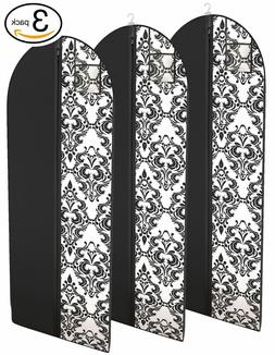 "Dress and Gown Garment Travel Bags 54"" x 24"" Hanging Window"