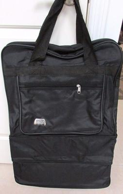 Expandable Travel Suitcase Garment Bag Soft Sided Luggage Wh
